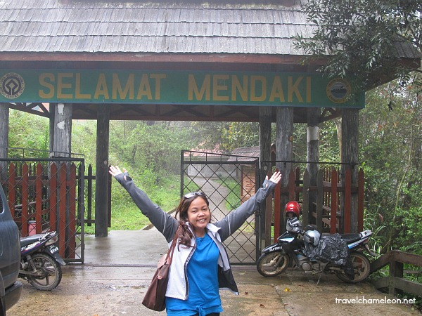 We're here at the foot of Mount Kinabalu.