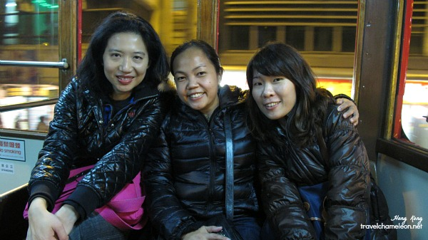 With local friend Paula who took us around town on the tram.