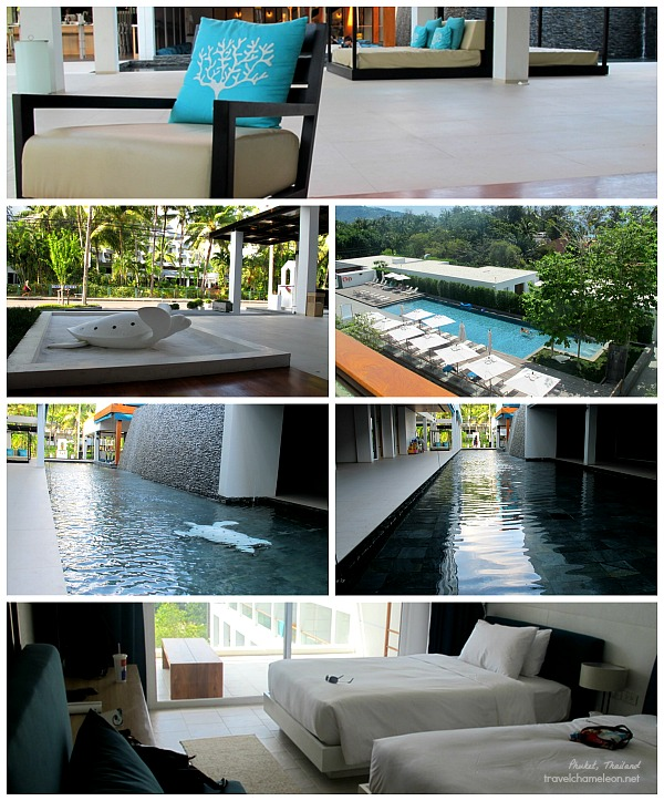 Gorgeous rooms with a view of the swimming pool from the 5th floor.