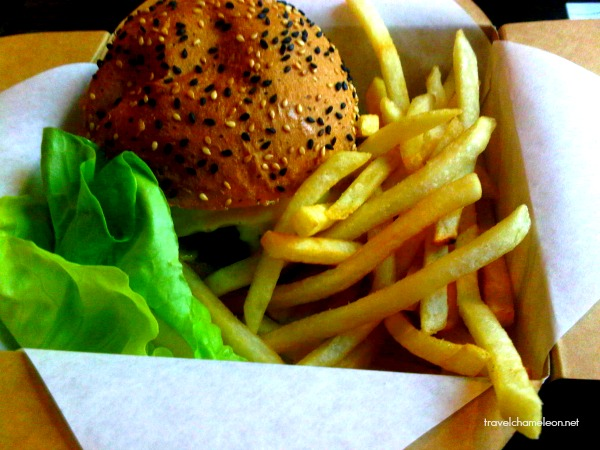 Their home made burger is just awesome x9999999999.