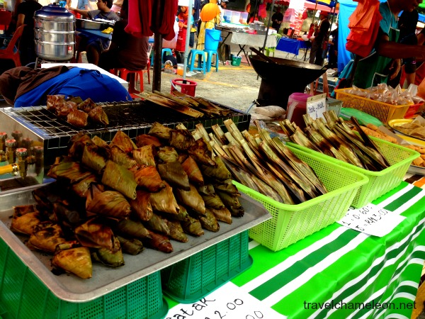 Satar (left) and the Otak-Otak (right) are both from the east and south of Malaysia