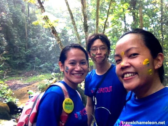 Team Sampat completing the first second pitstop of #TSDayOut Amazing Race to FRIM