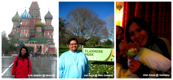 How Hari Raya was celebrated in Moscow, New Zealand and Germany.