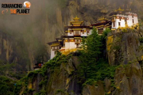 Paro Taktsang also known as Taktsang Goemba or Taktsang Monastery or Tiger's Nest - photo taken by Romancing the Planet