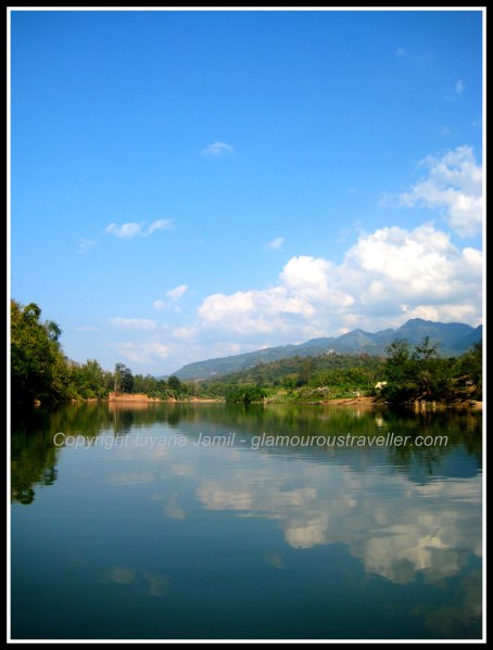 A beautiful lake in Luang Prabang - photo by Glamourous Traveller