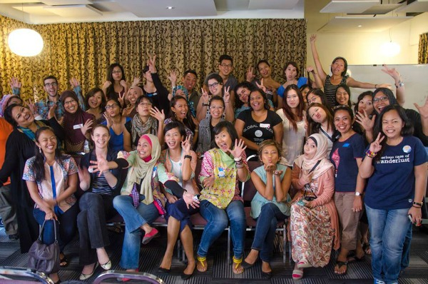 Being one of the social panelist during the Asian Women Empowerment Conference (AWE 2013) and meeting other wonderful travelers.