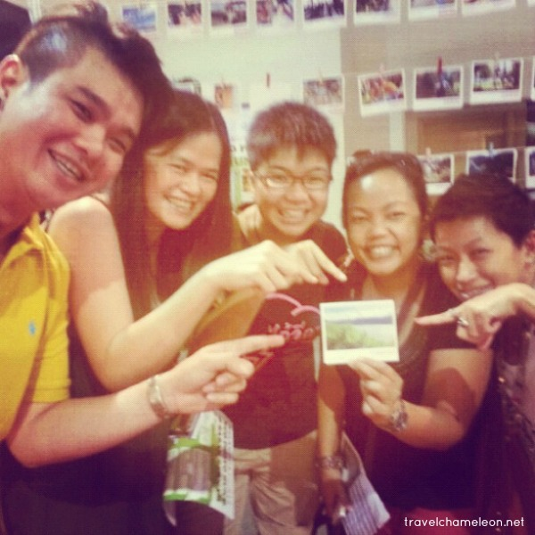 Supportive friends who came along to hunt for my photo displayed at Tourism Selangor's booth during the KL Photography Convention 2012.