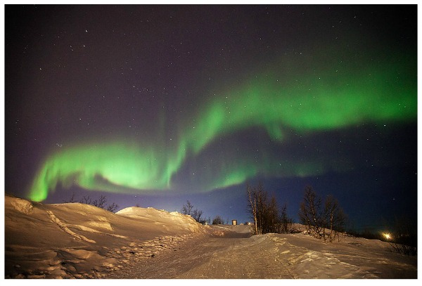 Catching the Aurora Borealis in Europe.