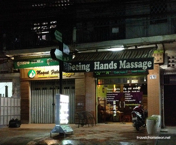 Go for the soothing blind massage near the National Museum.