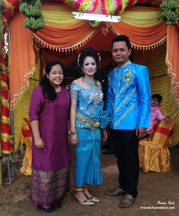 With the happy wedding couple.