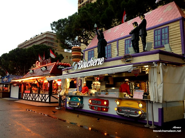 A stroll at the Fun Fair area in Monaco.