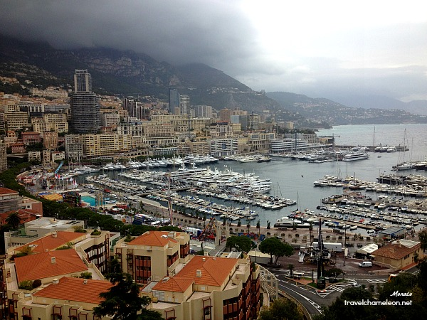 This view of Monaco awaits us!