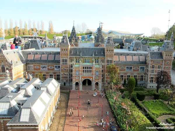 The great Rijksmuseum that houses many important paintings and art of the world.