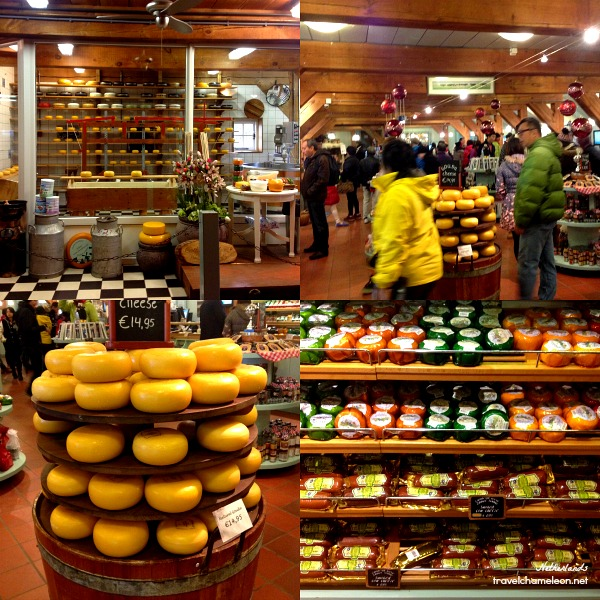 You could shop for cheese at the store or even taste one sample.