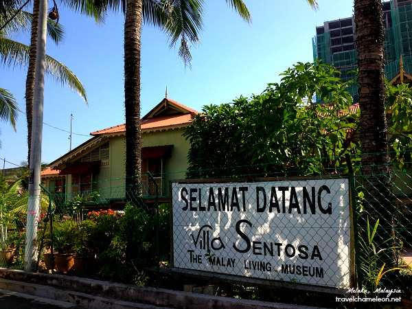 Visiting Villa Sentosa, the Living Malay Museum in Kampung Morten.