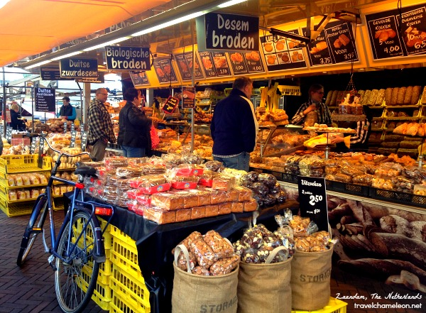 Of if you're hungry, grab some bread from the market too.