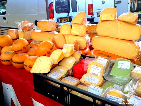 Plenty of cheese to choose from for your bread.