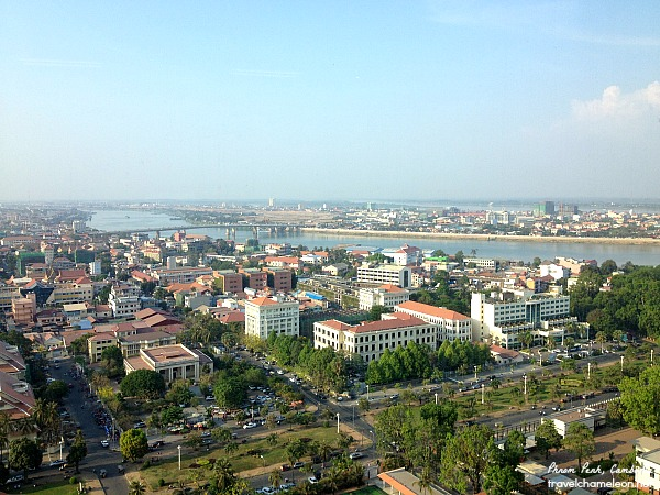 View from one of the offices in Vattanac Tower.
