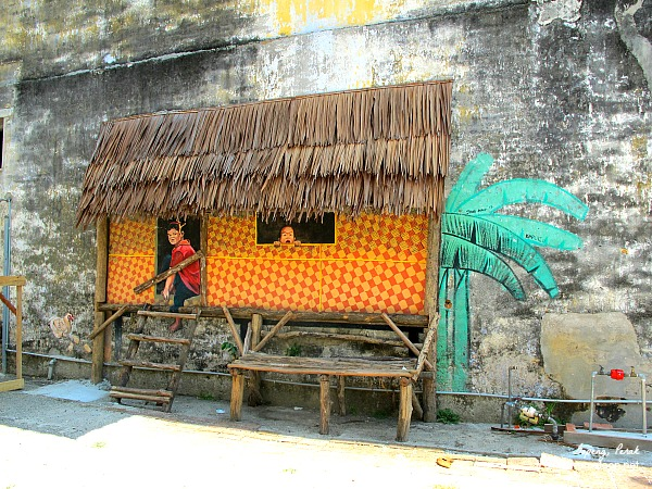 A traditional kampung house in Gopeng.