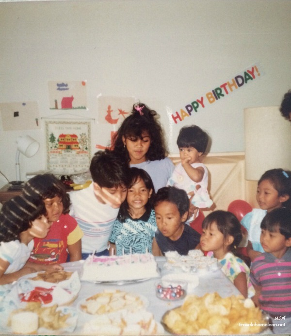 Not sure who's birthday this was since everyone else was blowing the candles, except me. Hehe.
