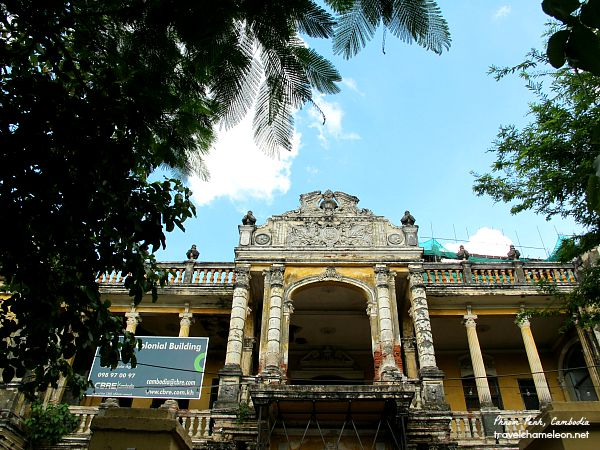 The Mansion located near the Royal Palace was built as a Royal Villa in the past.