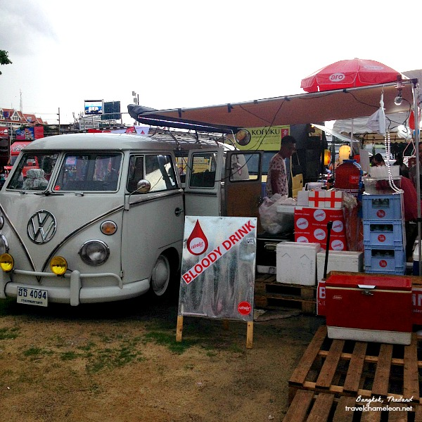 The VW combi Blood Bank is one of the popular stalls here at Artbox.