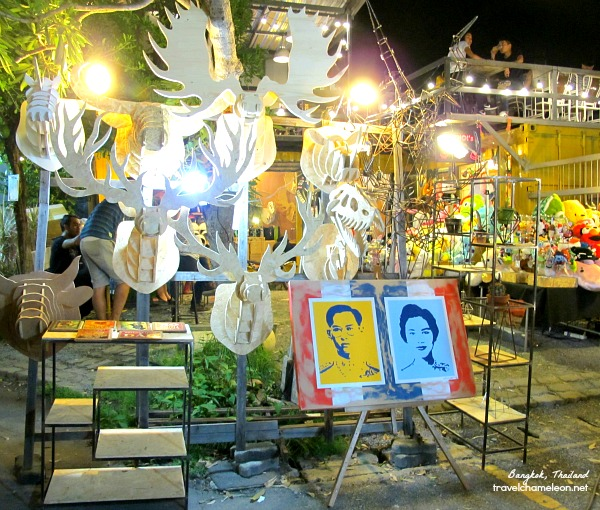 Arts and portraits seen in JJ Green Night Market.