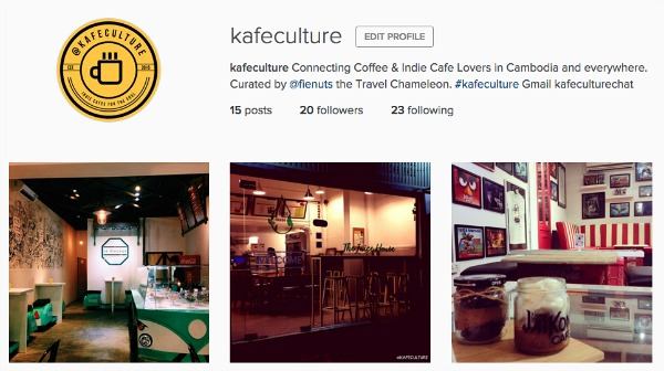 Starting a new page for indie cafe lovers everywhere.