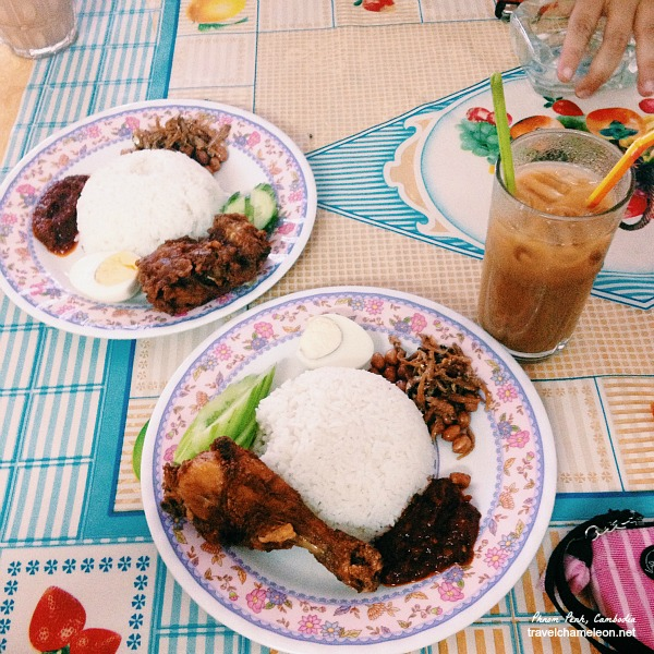 I really miss nasi lemak and this is the best there is at the moment.